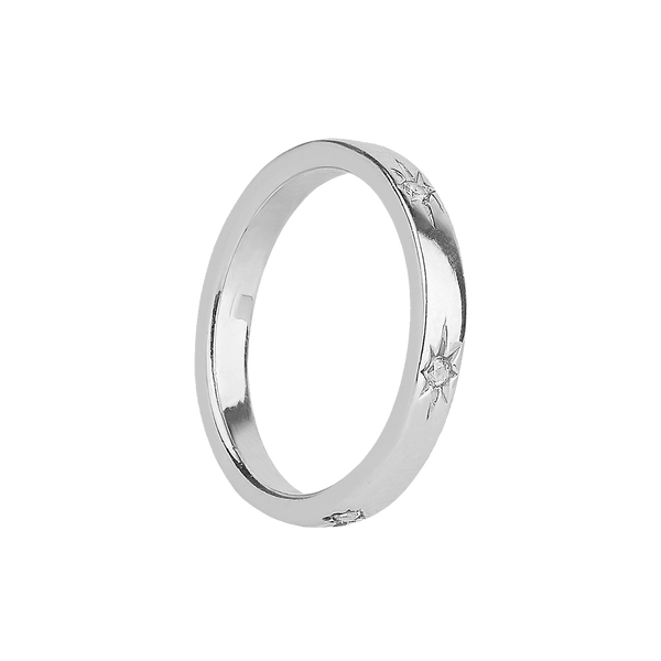 UNIVERSE SILVER RING