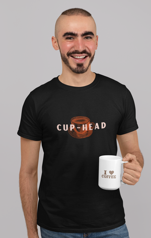 "Short-Sleeve Unisex T-Shirt ""Cup-Head"""
