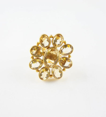 Citrine Gina Ring