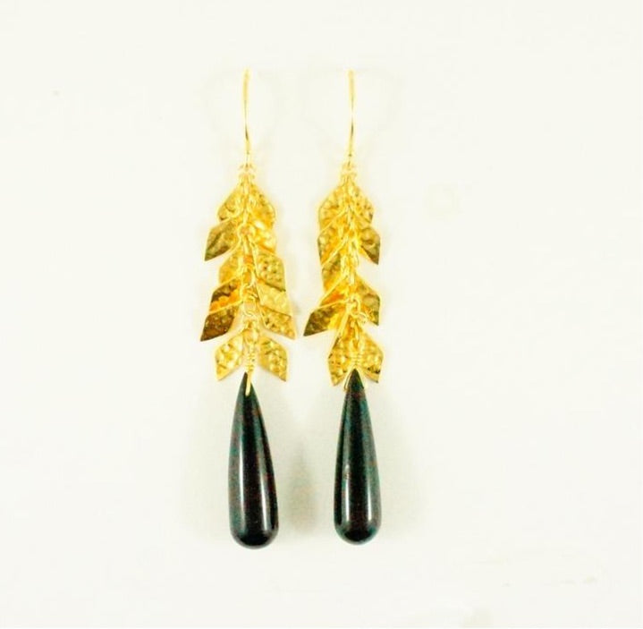 Kylie Earrings - Black Onyx