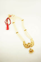 "Load image into Gallery viewer, Pearl ""Jamini"" Rani Haar Long Necklace"