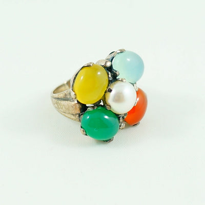 Meenal Ring - Multi Stone