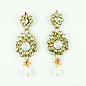 """Jane"" Earrings - Pearl"