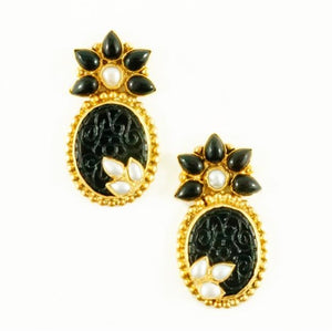 Sophia Earrings - Black