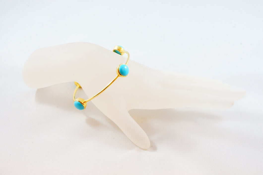 Turquoise Gem Bangle