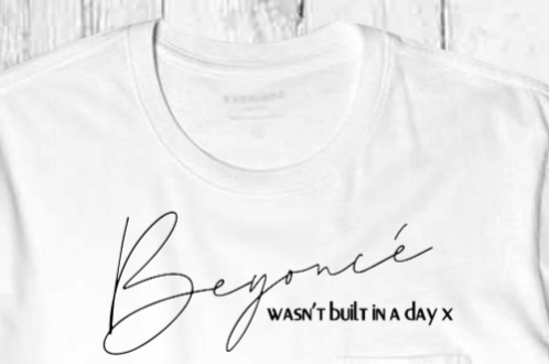 Wasn't built in a day Tee
