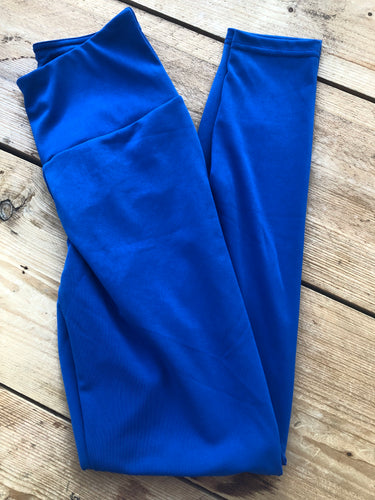 ATHENA Blue High-Waisted Leggings