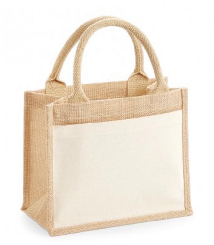 Design you own - Jute Lunch Bag