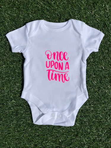 SALE - Once upon Bodysuit - 0-3 Months