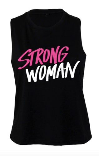 'STRONG WOMAN' Tank