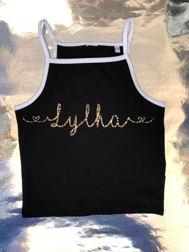 'NAME' Strappy Vest  - [Bethany]