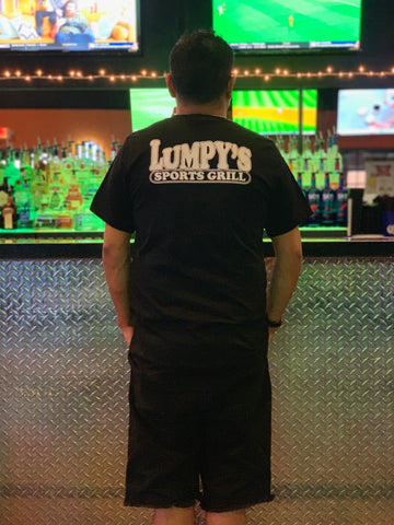 Short Sleeve V-Neck Lumpy's Shirt