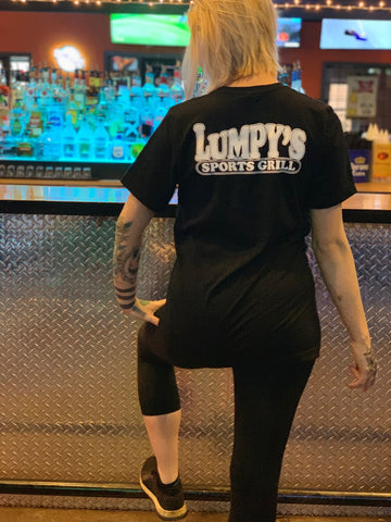 Short Sleeve Crew Neck Lumpy's Shirt