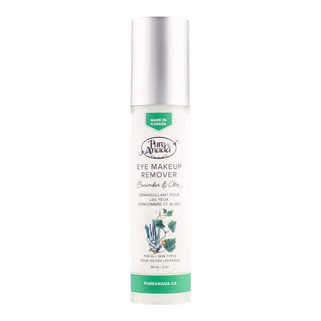 Cucumber and Aloe Eye Makeup Remover – Pure Anada