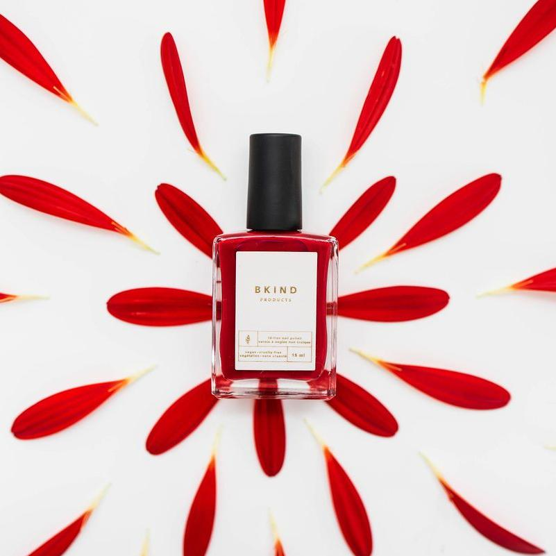 Lady in Red Nail Polish — Bkind