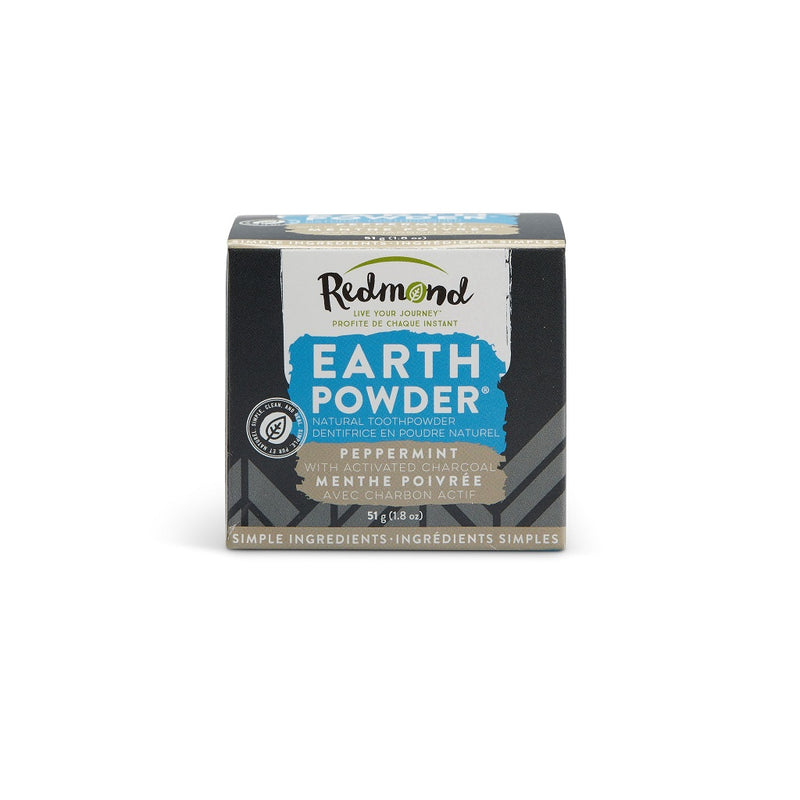 Redmond Earthpowder Peppermint with charcoal