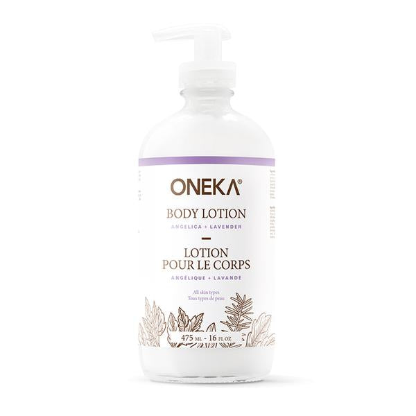 Angelica and Lavender Body Lotion – Oneka