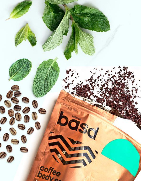 Invigorating Mint Coffee Body Scrub