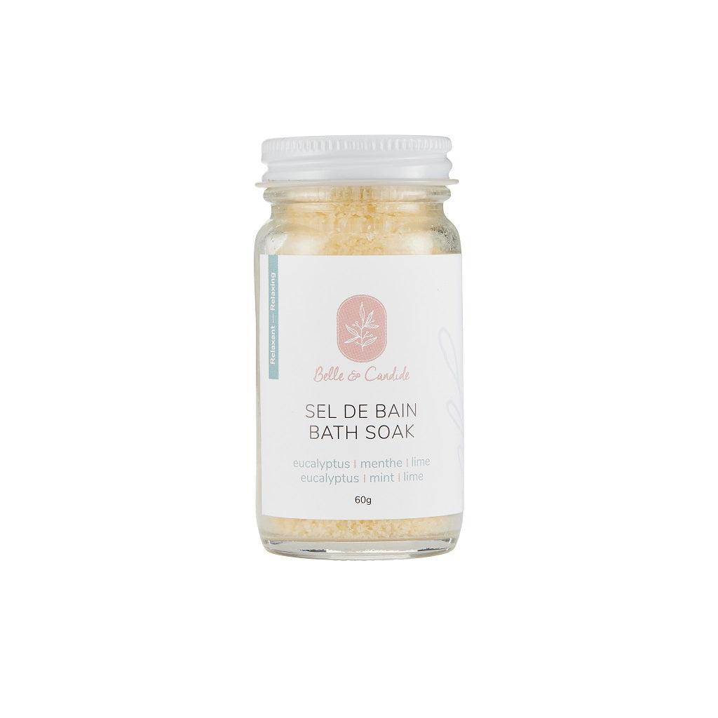 Eucalyptus, Mint and Lime Bath Soak — Belle & Candide