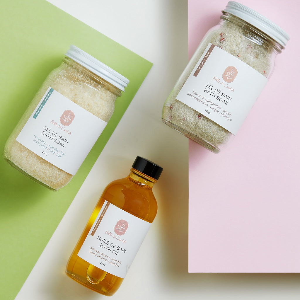 Unwind Bath Soak Set - Belle & Candide