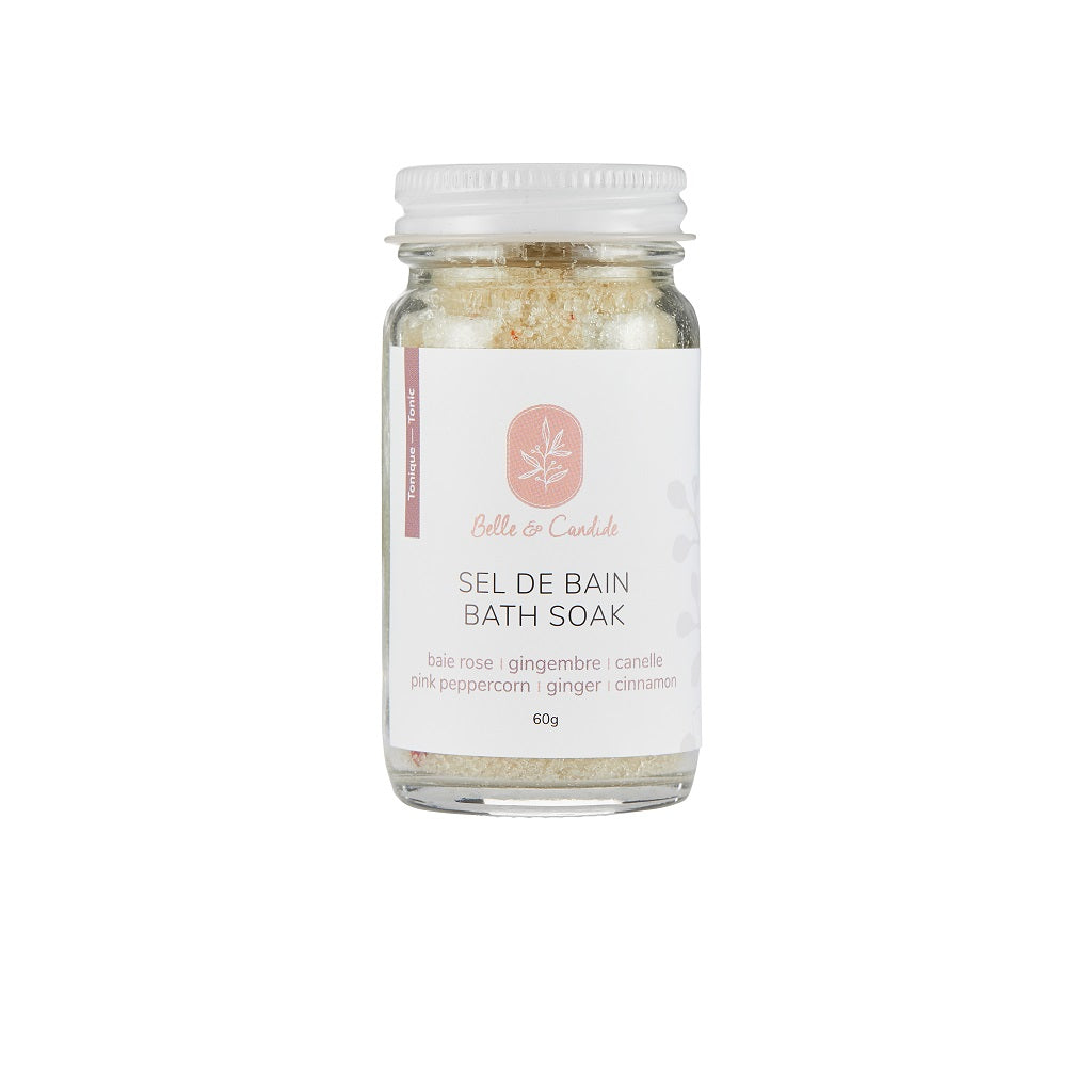 Pink Peppercorn & Spices Bath Soak - Belle & Candide