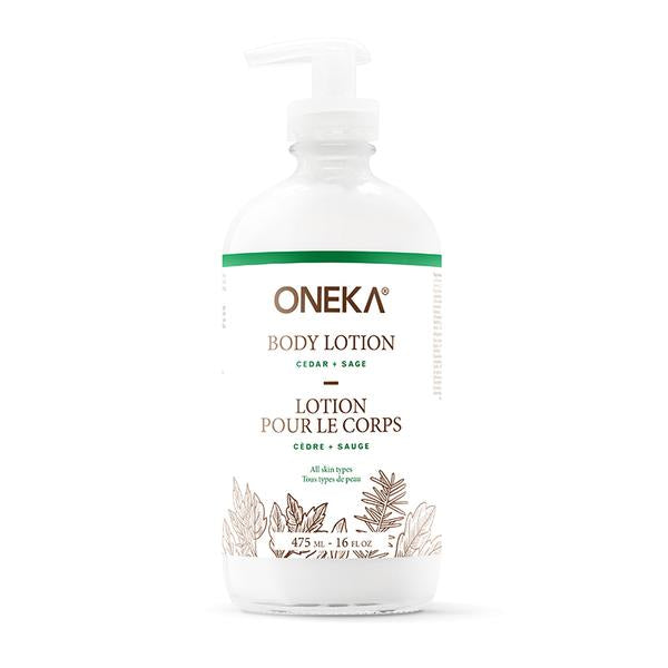 Cedar & Sage Body Lotion – Oneka
