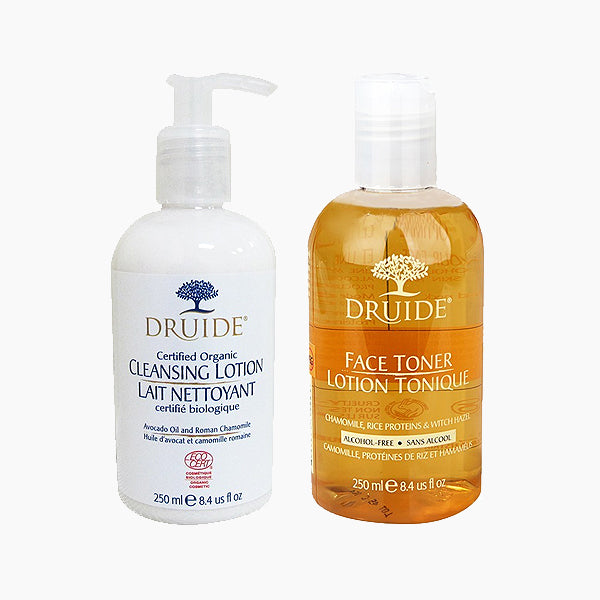 Cleansing Milk and Face Toner Set