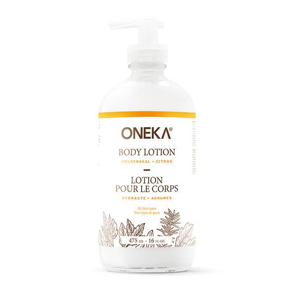 Goldenseal & Citrus Body Lotion – Oneka