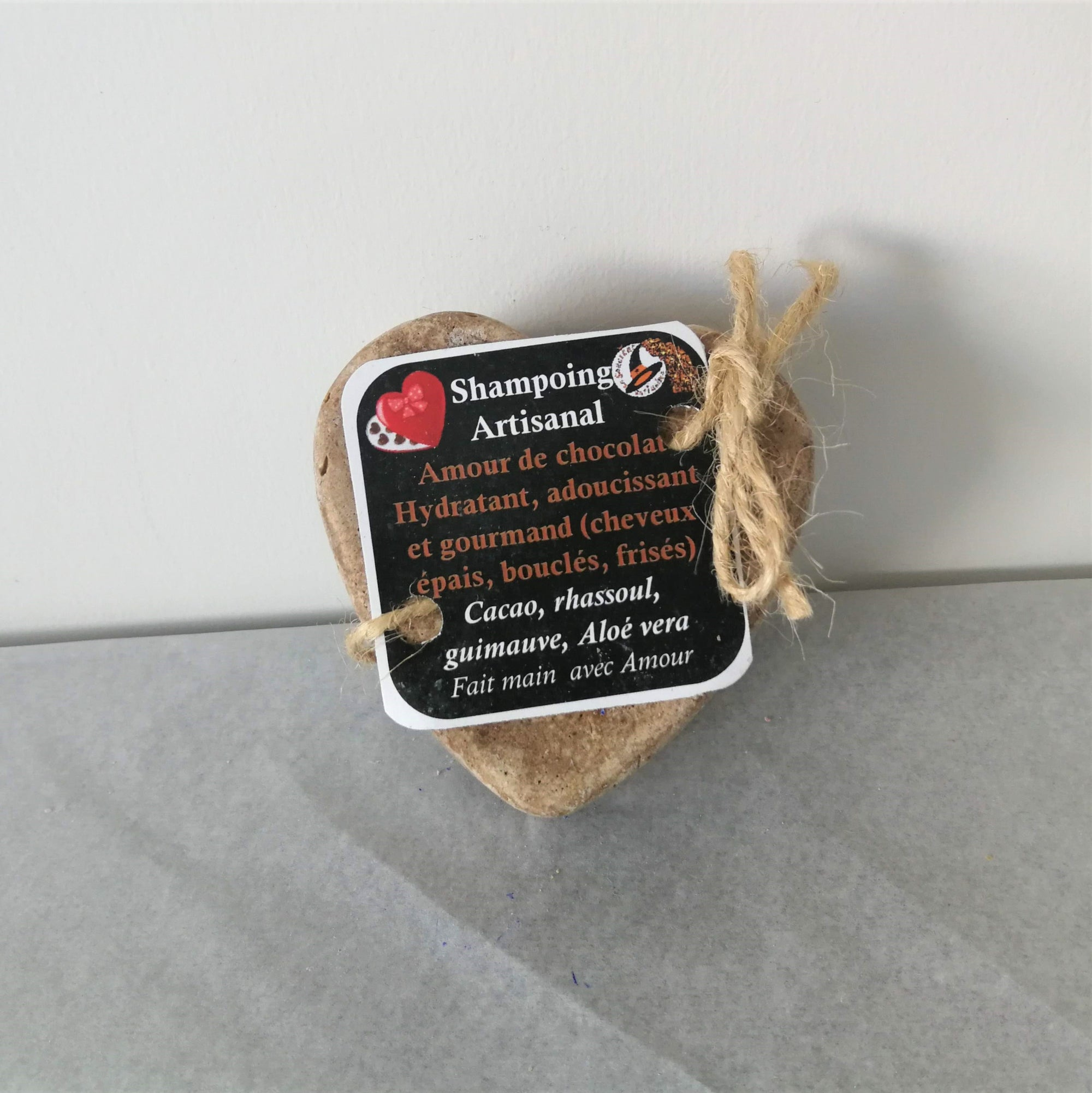 Handmade Shampoo Bar for Curly Hair - Amour de Chocolat