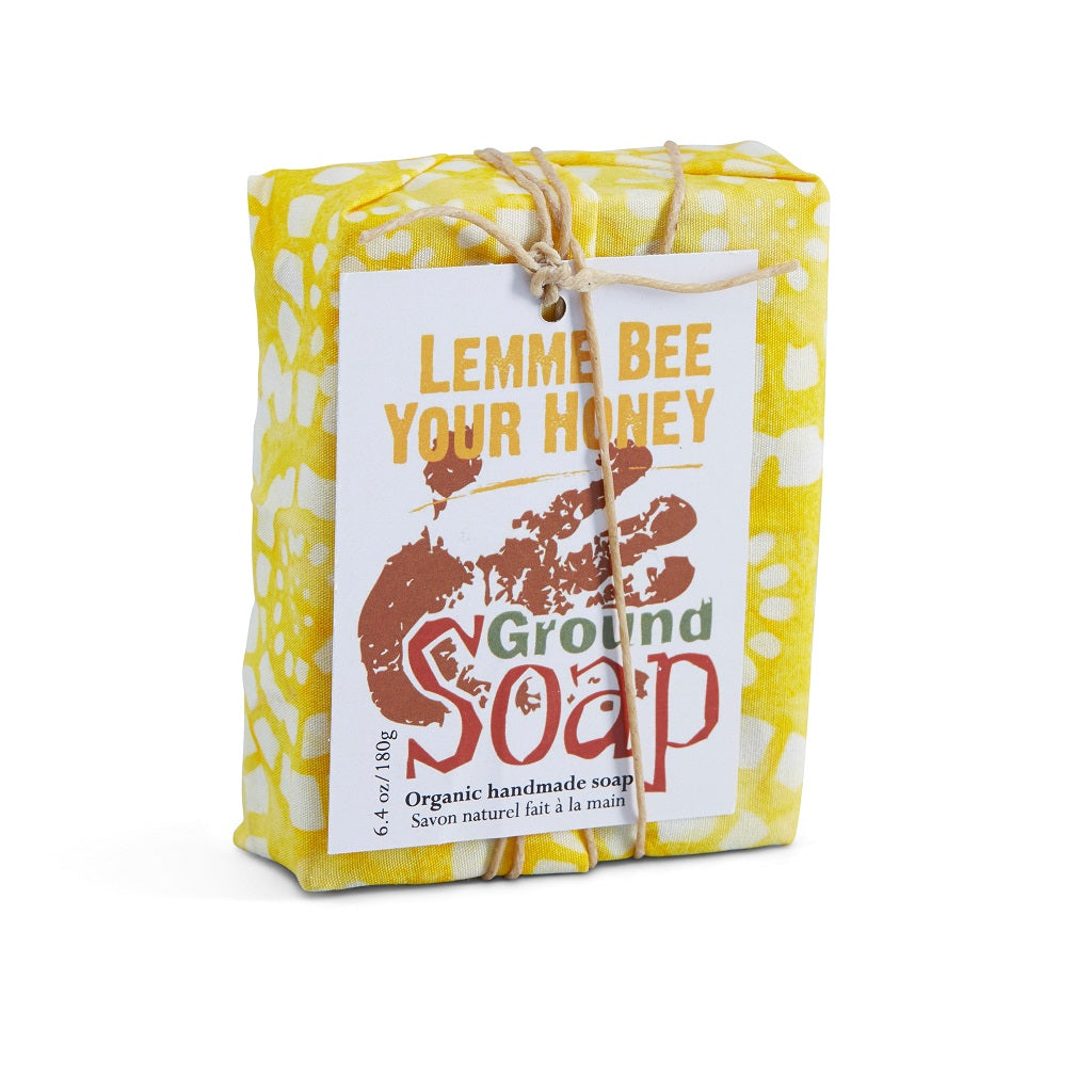 LEMME BEE YOUR HONEY Ultra-hydrating Soap with lemon and honey