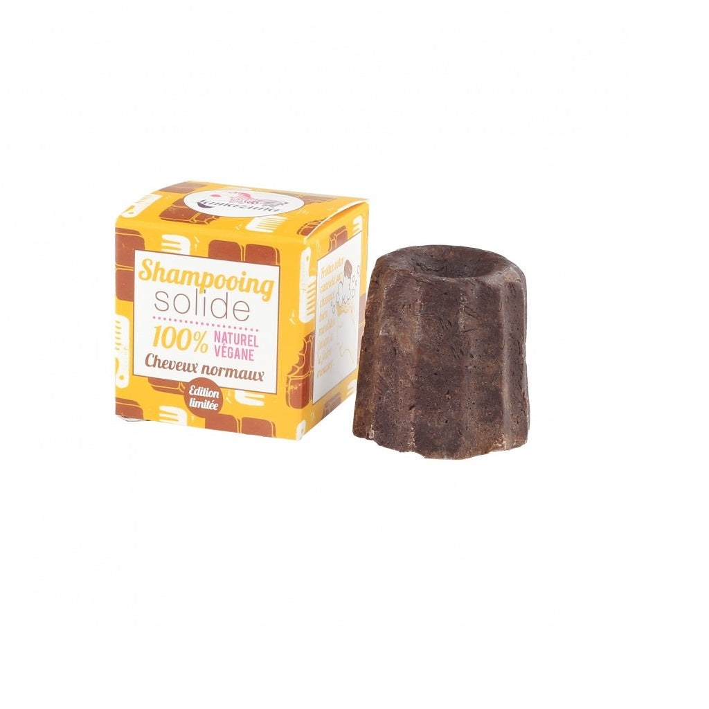 Lamazuna Chocolate Shampoo Bar