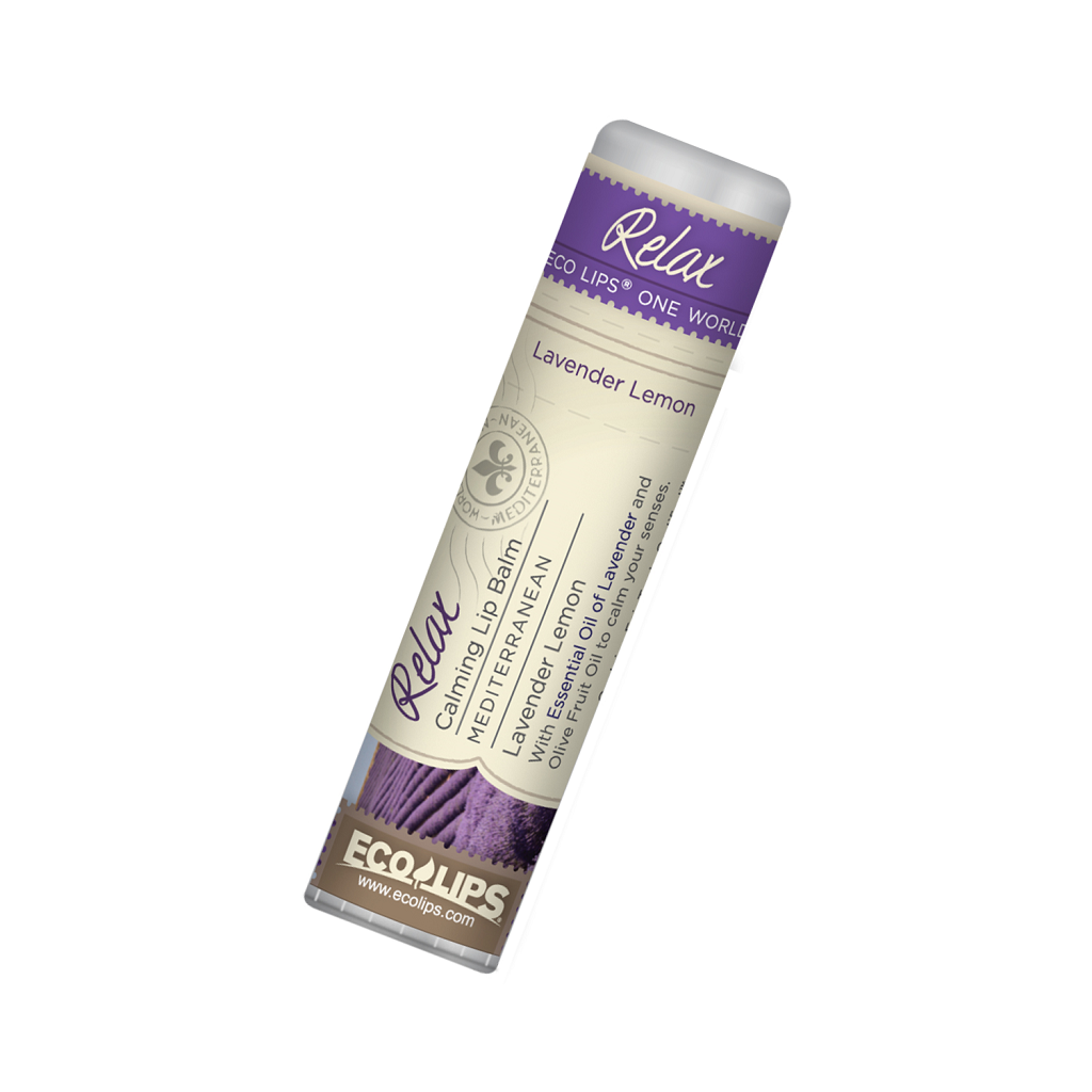 Calming Lavender Lip Balm - ONE WORLD Relax