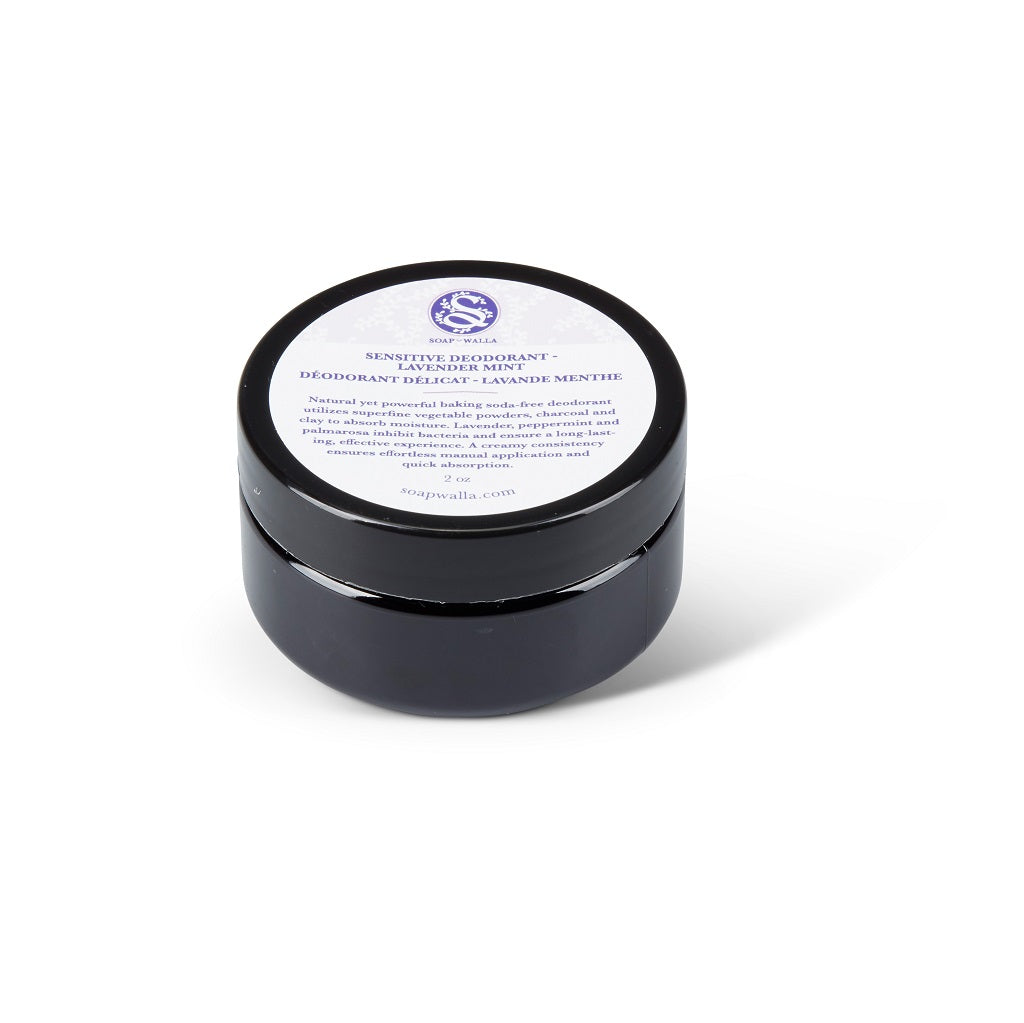 Soapwalla Lavender Mint Deodorant Cream - Sensitive Skin