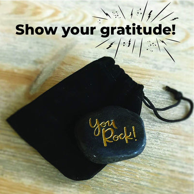 """You Rock"" Gift and Thank You Card Kit"
