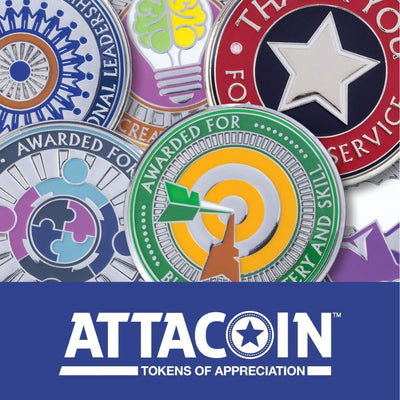 AttaCoin - 5 Coins - Going Above and Beyond