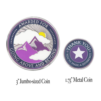 Going Above and Beyond Single Large Coin