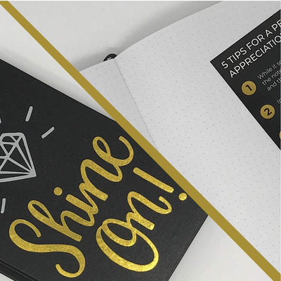 Shine On! Bullet Journal and Thank You Card Kit