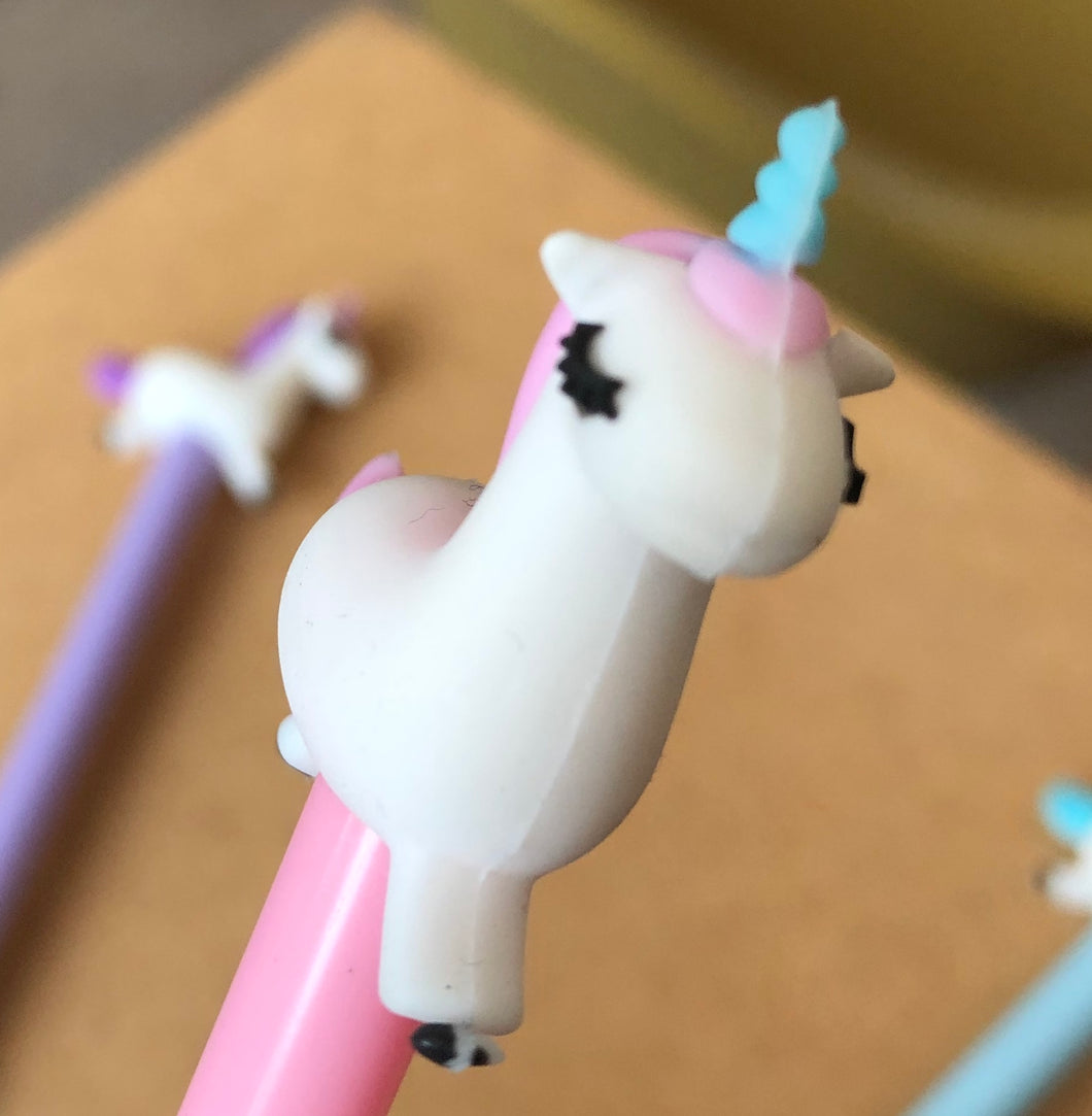 Pen Gel Licorne au galop