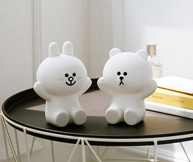 Lampe silicone Cony and Brown