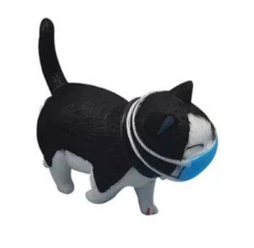 Chat masqué Figurine