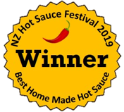 Award winning hot sauce