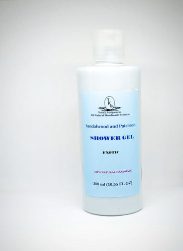 Sandalwood and Patchouli Shower Cream -300ml