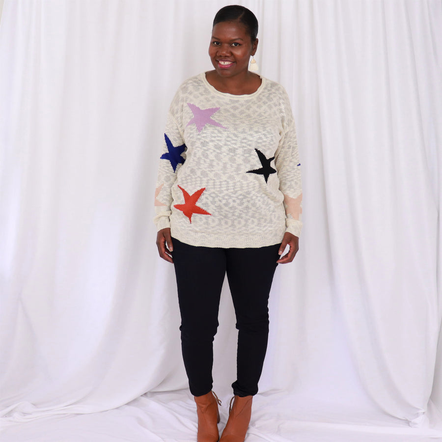 Seeing Stars Lightweight Sweater