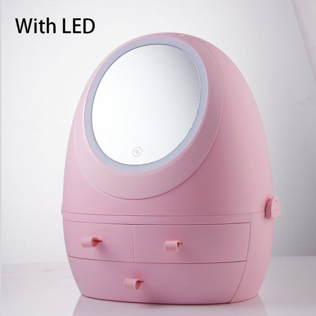 Led Cosmetic  Organizer Box