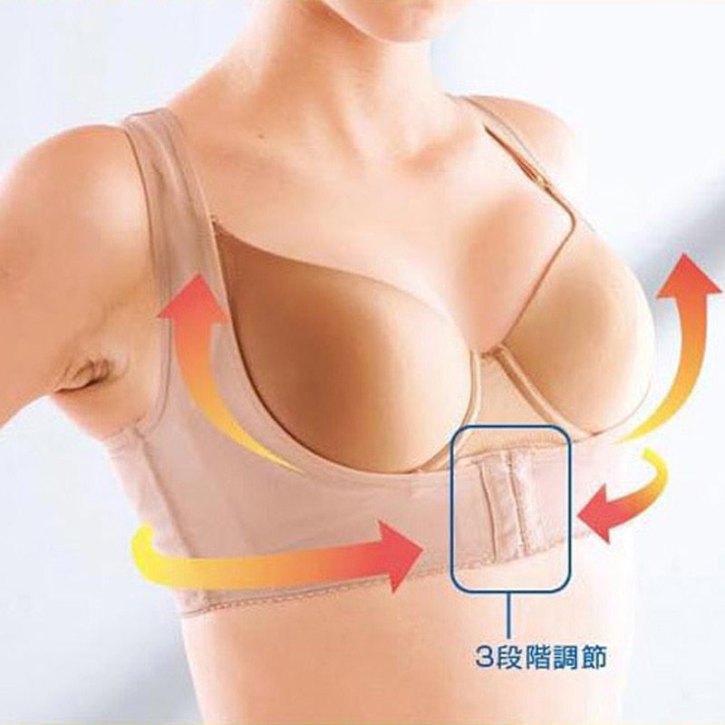 Tape Bra Corset Back Corrector Shapers