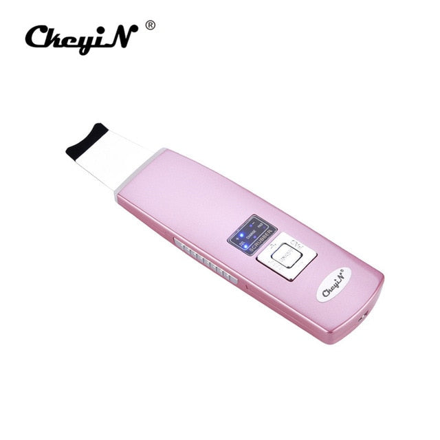 Ultrasonic Ion Skin Scrubber Facial Care