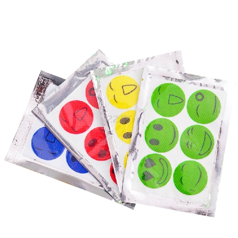 (60 PCS) CHILD NATURAL MOSQUITO REPELLENT PATCH
