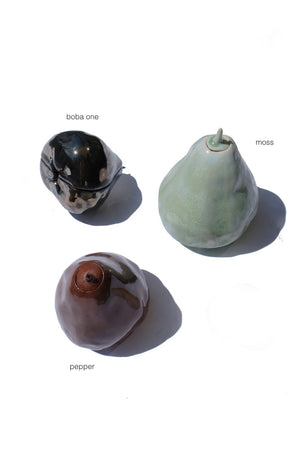 Wax Apple sculpture containers