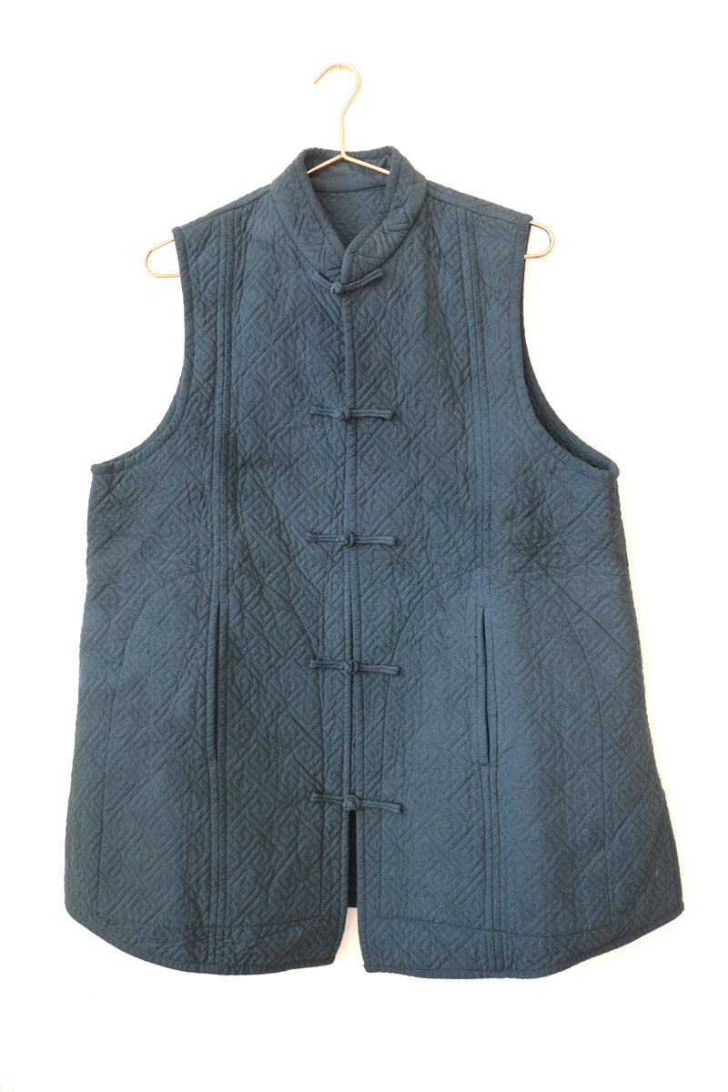 huichung - embroidered long vest