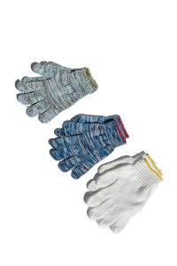 knit worker gloves